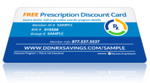Click for more Prescription Discount Card Information